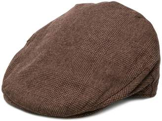 Hackett checked beret