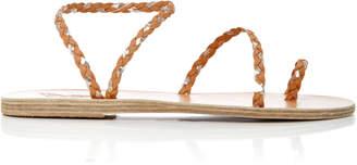 Elefetheria Braided Leather Sandals