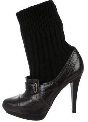 Stella McCartney Sock Platform Booties
