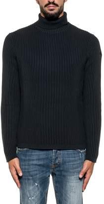 Rrd Roberto Ricci Design RRD - Roberto Ricci Design Sweater Dark Blue Collar