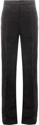 Yang Li textured high-waisted trousers