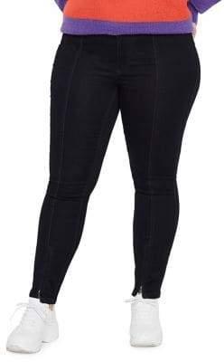 Junarose Plus #618 Queen Split-Hem Ankle Jeans