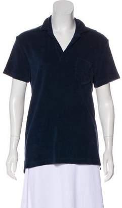 Orlebar Brown Short Sleeve Collared Top