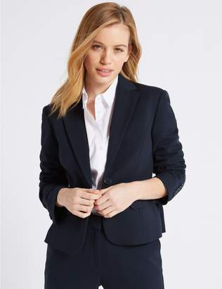 Marks and Spencer PETITE Single Breasted Blazer