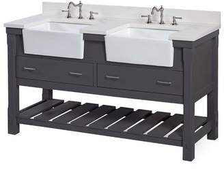 "KBC Charlotte 60"" Double Bathroom Vanity Set Base"