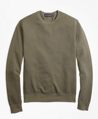 Brooks Brothers Garment-Dyed Crewneck Sweater