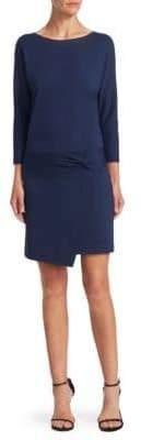 Halston Boatneck Sheath Dress