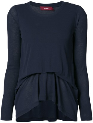 Sies Marjan draped longsleeved blouse