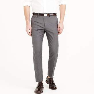 J.Crew Ludlow Slim-fit pant in heather cotton twill