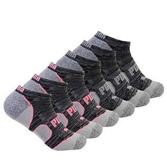 Puma Multi No Show Sport Socks Six-Pack