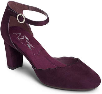 Aerosoles A2 BY A2 by Womens Pumps Strap Round Toe Block Heel