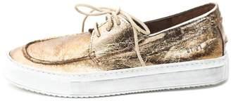Keep Metallic Boat Sneaker