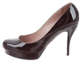 Gucci Patent Leather High-Heel Pumps
