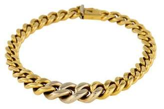 Chimento 18K Graduated Curb Link Bracelet