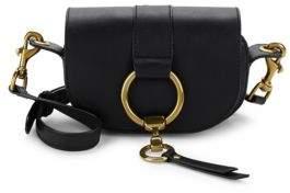 Frye Ilana Harness Leather Mini Saddle Bag