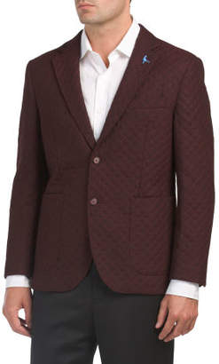Modern Fit Wool Quilted Sport Coat