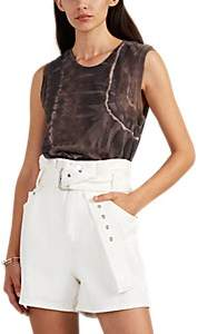 Raquel Allegra Women's Tie-Dyed Cotton-Blend Muscle Tank