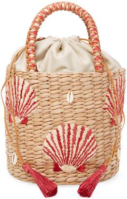 Aranaz Shell-La-La Bucket Bag