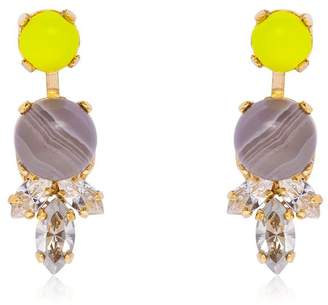 Anton Heunis Color Block Stud Earrings