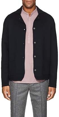 Barneys New York Men's Wool Jacket-Style Cardigan