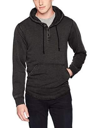 Lucky Brand Men's Venice Burnout Hooded Sweatshirt