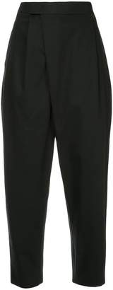CK Calvin Klein high waist cropped suiting trousers