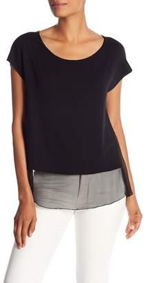 Bailey 44 Fleece & Silk Short Sleeve Top