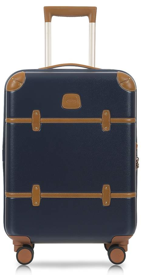 Bric's Bellagio V2.0 21 Blue Tobacco Carry-On Spinner Trunk