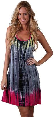 94eba386528 at Amazon Canada · Ingear Tie Dye Racerback Dress Tank Summer Fashion Beachwear  Sundress Cover Up