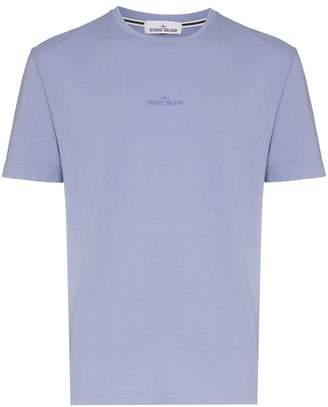 Stone Island logo print cotton T-shirt