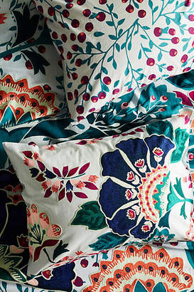 Anthropologie Liberty for Embroidered Feather Bloom Shams