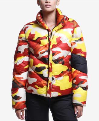 Artistix Printed Puffer Jacket