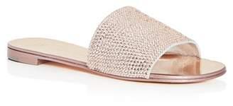 Giuseppe Zanotti Women's Swarovski Crystal Embellished Slide Sandals