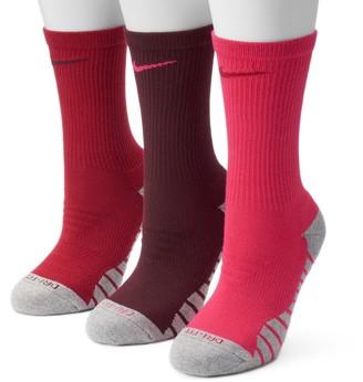 Nike Women's 3-pk. Dri-Fit Cushioned Crew Socks