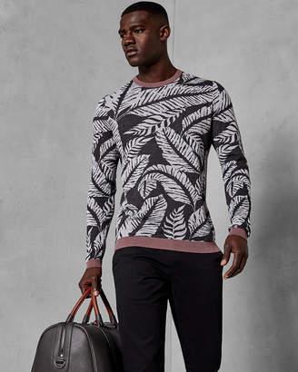 Ted Baker MADEIRA Leaf print jumper