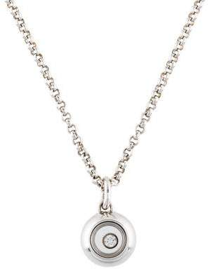 Chopard 18K Happy Diamonds Icon Pendant Necklace