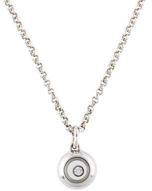 Chopard 18K Happy Diamonds Icon Pendant Necklace