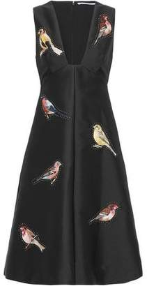Stella McCartney Embellished Duchesse-Satin Dress
