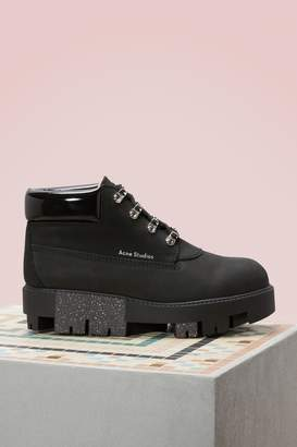 Acne Studios Cushioned Tinne Ankle Boots