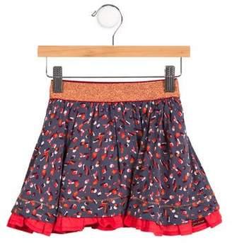 Jean Bourget Girls' Printed Flared Skirt