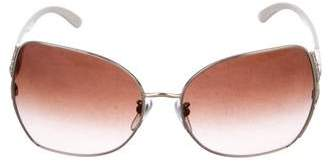 Bvlgari Butterfly Embellished Sunglasses