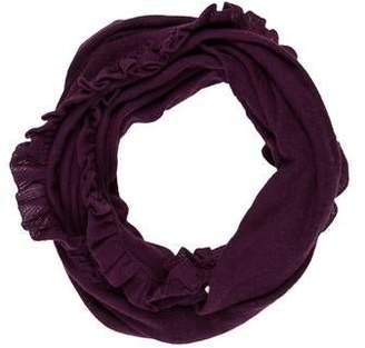 Portolano Wool-Cashmere Knit Infinity Scarf