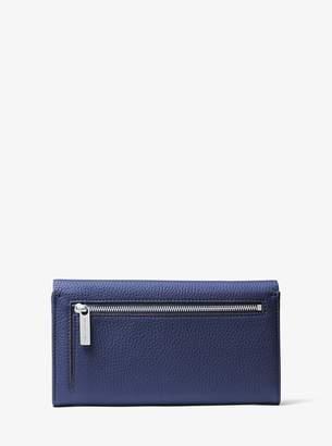 Michael Kors Bancroft Leather Continental Wallet