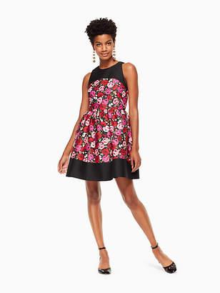 Kate Spade Salon rose odell dress