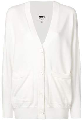 MM6 MAISON MARGIELA V-neck cardigan