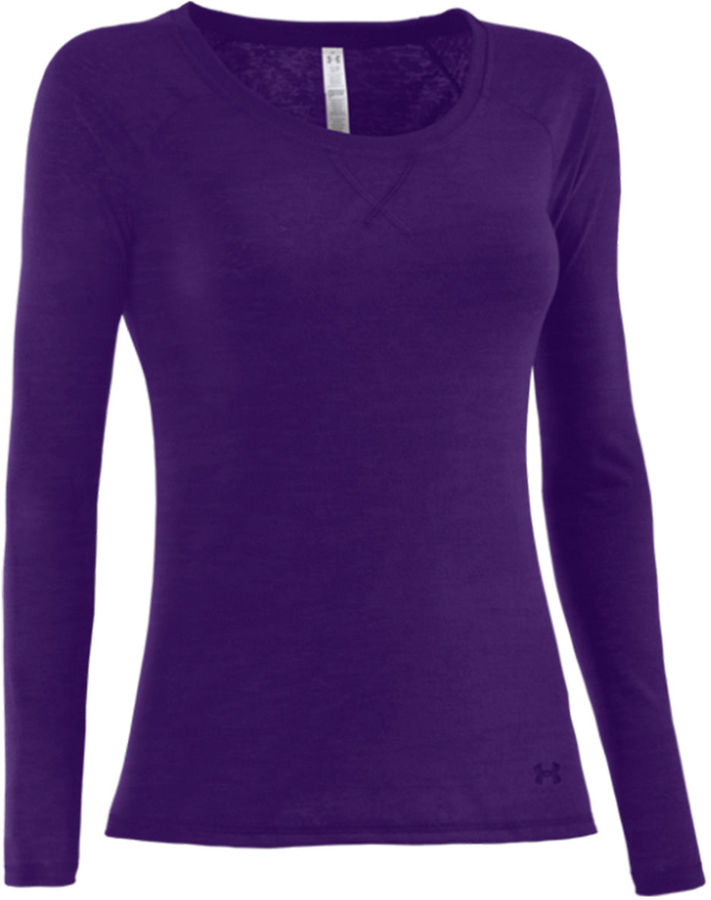 Under Armour Ladies' Burnout Ultimate Long-Sleeve Top