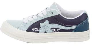 Converse x GOLF le FLEUR Leather Low-Top Sneakers w/ Tags