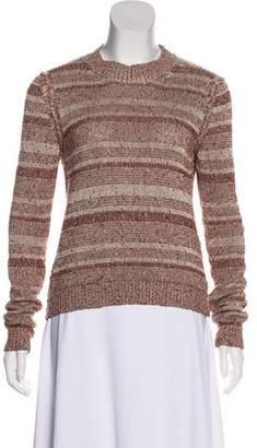 Acne Studios Textured Long Sleeve Sweater