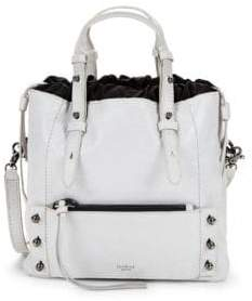 Warren Patent Leather Bucket Bag