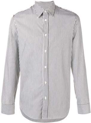 Maison Margiela longsleeved striped button-up shirt